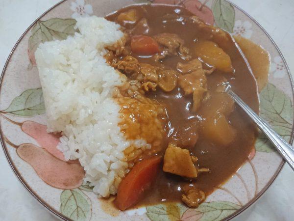 会津米のカレー
