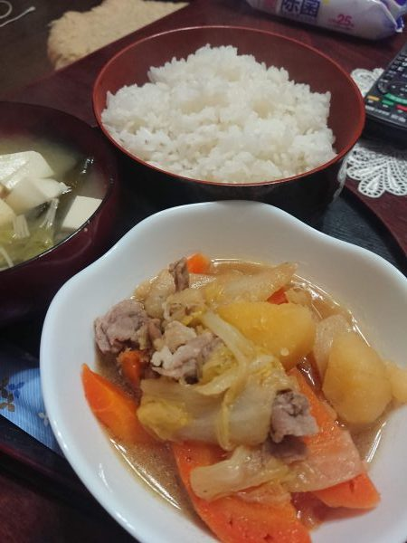 会津のご飯。